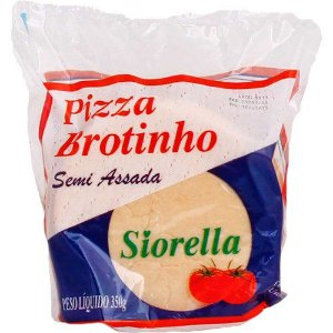 Embalagem personalizada para massa de pizza