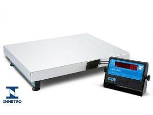 Balança Digital Plataforma Inox 80 X 60