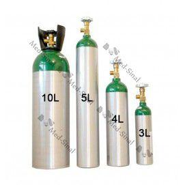 Cilindro de Alumínio para Oxigênio