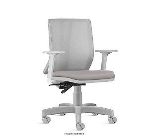 Cadeira Office Smart - Alessandra Cinza Mineral