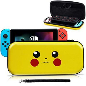 CASE PIKACHU PARA NINTENDO SWITCH