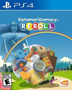 KATAMARI DAMACY REROLL PS4