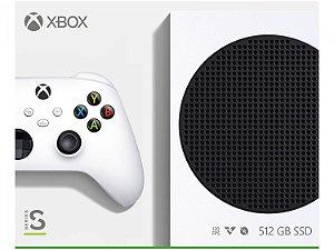 XBOX SERIES S 512gb BRANCO - NOVO