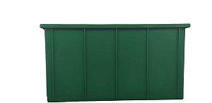 Caixa Plástica Fechada 61Litros Verde