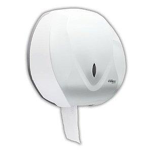 Dispenser para Papel Higiênico tipo rolão (300/500m) - Branco