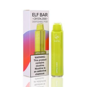 Pod Descartável 2500 Puffs - Elf Bar - Apple Juice