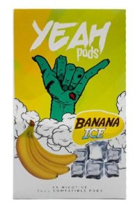 Yeah Pods De Reposição Banana Ice - Compatíveis com Juul - Yeah