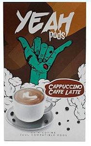 Yeah Pods Cappuccino Cafe Latte - Compatíveis com Juul - Yeah