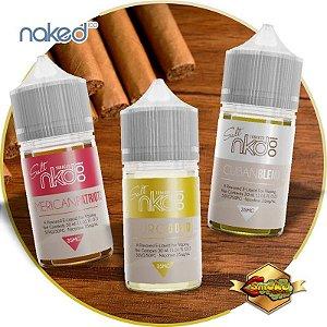 Combo 3 líquidos Naked Salt Atabacado