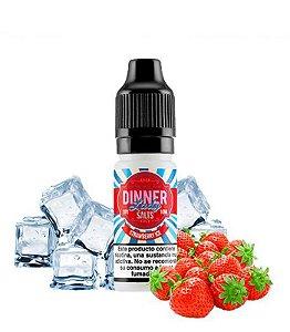 Líquido Dinner Lady Salt Nic - Strawberry Ice