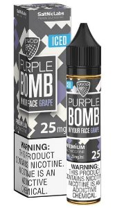 Líquido VGod Salt - Purple Bomb ICED