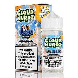 Líquido Peach Blue Razz Ice - CLOUD NURDZ