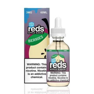 Líquido Reds Apple ejuice - Berries ICED