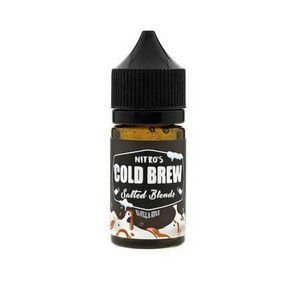 Líquido Salt nicotine Nitro's Cold Brew Salted Blends - Vanilla Bean