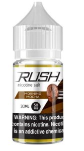 Líquido Salt nicotine Rush - Morning Mocha