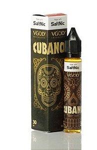 Líquido VGod Salt - Cubano Rich Creamy Cigar