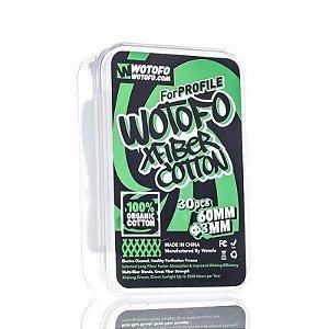 Algodão XFiber Cotton Organic - Wotofo