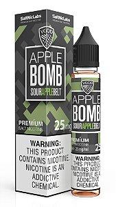 Líquido VGod Salt - Apple Bomb Iced - Sour Apple Belt Iced