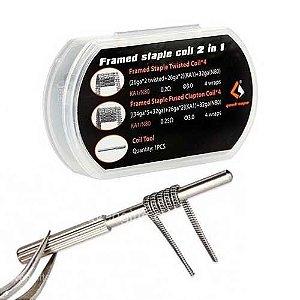 Resistência 2 em 1 Framed Staple - F202 - Geekvape