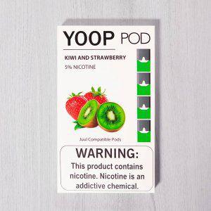 Yoop Pods Kiwi And Strawberry - Compatíveis com JUUL - YOOP