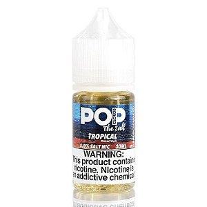 Líquido Pop Clouds Salt - Tropical  Push Candy
