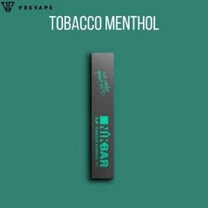 Pod descartável NikBar - Tabacco Menthol