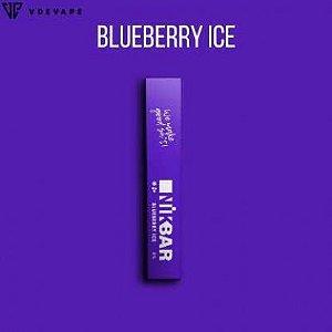 Pod descartável NikBar - Blueberry Ice