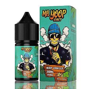 Líquido Yoop Vapor Salt - Mr. Yoop - Mint Vanilla