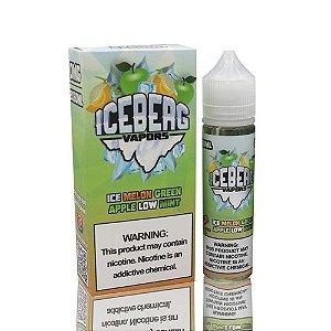 Líquido Iceberg Vapors -  Ice Melon Green Apple Low Mint