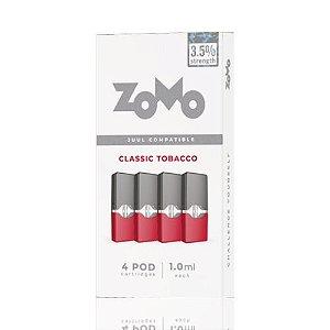 Pod Zomo  Compatível Com Juul - Classic Tobacco