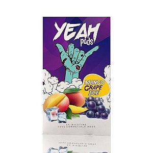 Yeah Pods De Reposição Mango Grape Ice - Compatíveis com JUUL - Yeah