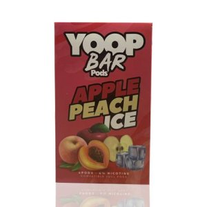 Yoop Bar Apple Peach Ice - Compatíveis com Juul - Yoop Vapor