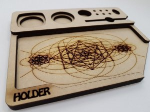 BANDEJA HOLDER MDF