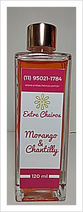 Morango e Chantilly - 120 ml