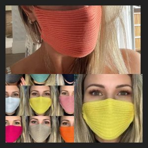 Kit com 3 máscaras 💯% fio viscose