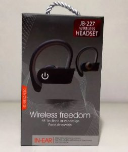 Fone De Ouvido Jbl Wireless Freedom Headset Jb-227 In-ear