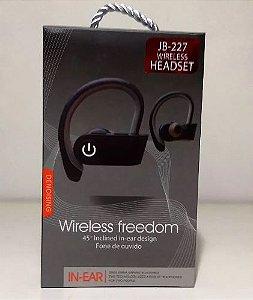 Fone De Ouvido Jbl Wireless Freedom Headset Jb-227 In-ear