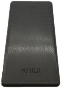 Carregador Portátil Kaidi Power Bank Original Slim Kd-951 10000mah Preto