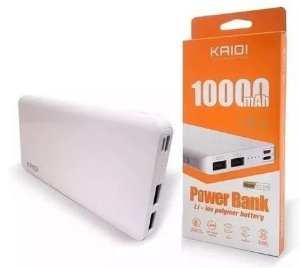 Carregador Portátil Power Bank 10000mah Kd-168 Original