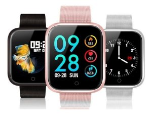 Relógio Inteligente Bluetooth Smartwatch P80 Android e IOS