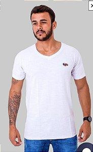Camiseta Black Blue Branca Tamanho M