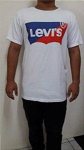 Camiseta levis branca tamanho G