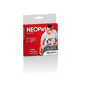 NeoPet 10 a 20kg Ouro Fino