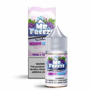Mr Freeze Nic Salt - Grape Frost