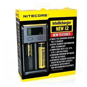 Carregador Nitecore - New I2