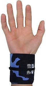 Munhequeira Tecido Camuflado Azul