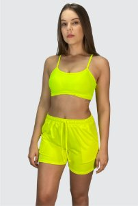 Conjunto Amarelo Neon