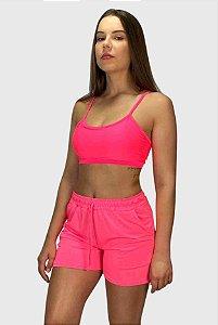 Conjunto Rosa Neon