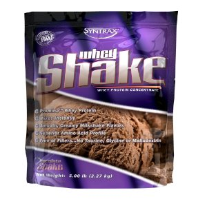 WHEY SHAKE SYNTRAX CHOCOLATE - 5Lb (2.270g)