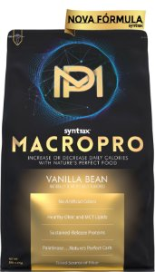 MACRO PRO SYNTRAX - 2.270 G  - VANILLA BEAN  (embalagem economica com 56 doses/refeições)